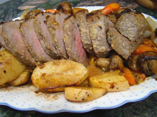 Beef Roast With Veggies
