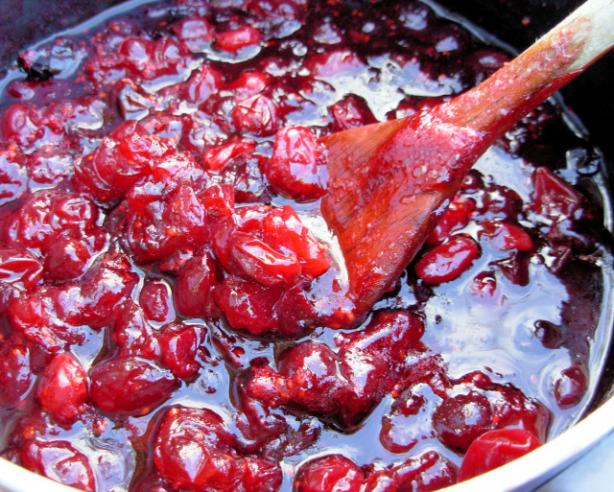 Whiskey Spiked Cranberry Relish