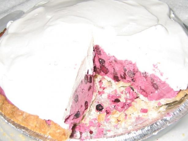 Blueberry Chantilly Pie