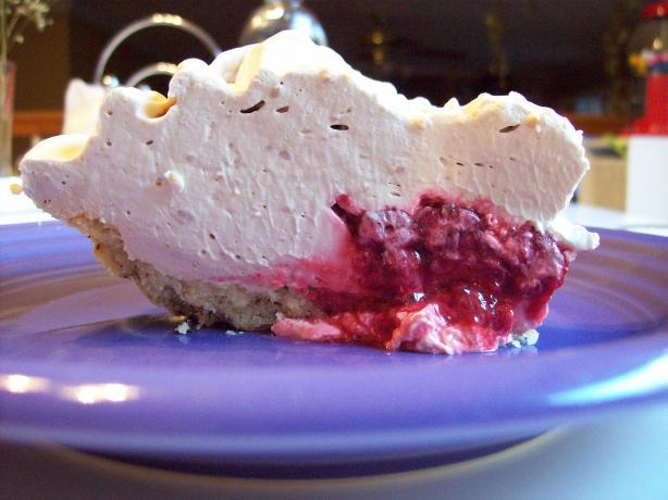 Raspberry Coffee Pie