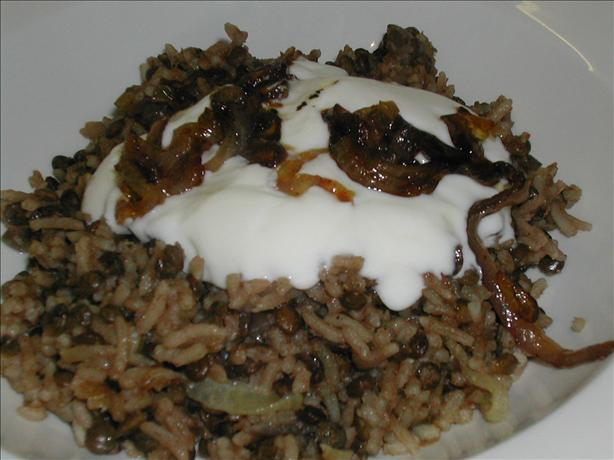Megadarra, Esau's Dish, or Lentils With Rice