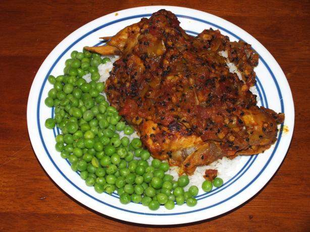 Kalonji Chicken - Vij's