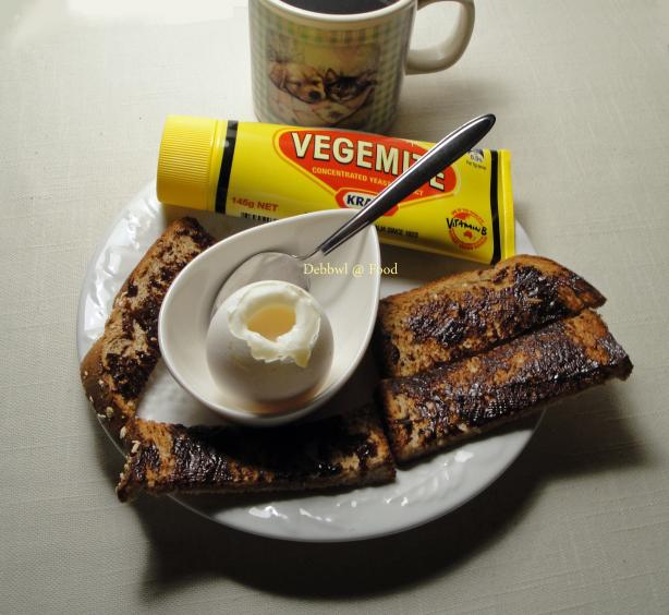 Egg and Vegemite Soldiers