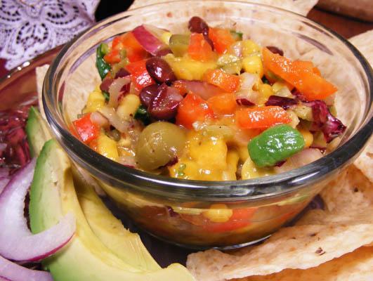 Heather's Tropical Bean Salsa