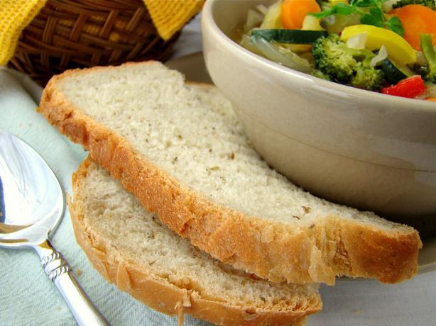 Italian Herb Bread (Bread Machine)