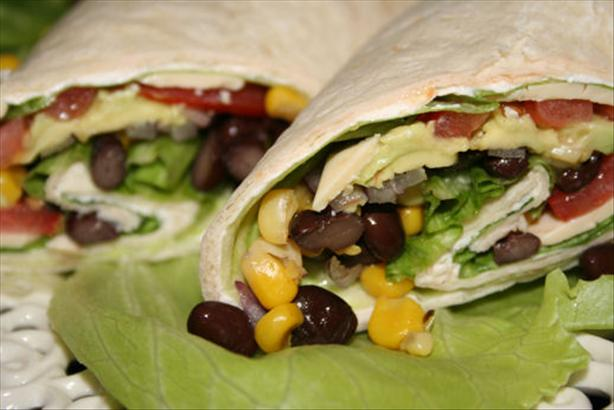 Santa Fe Vegetable Wrap