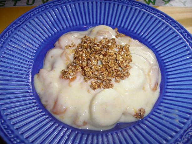 Mandarin Yoghurt Crunch