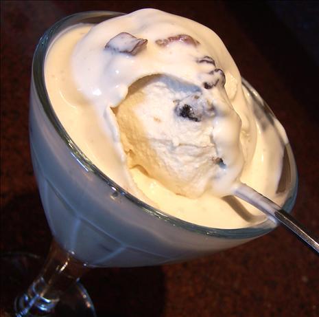 Kahlua Pecan Chunk Ice Cream