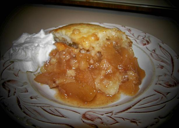 Country Fresh Apple Cobbler