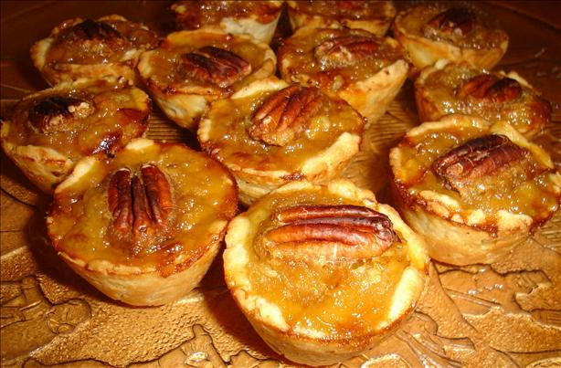 Mini Maple Pecan Tarts