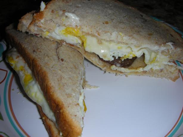 Ridiculously Easy, Utterly Delicious Egg Sandwich