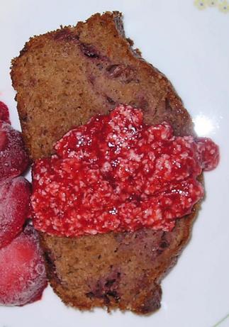Strawberry Bread & Strawberry Butter