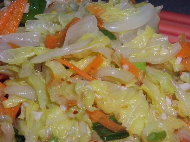 Kimchi Salad Aka Quick Kimchi