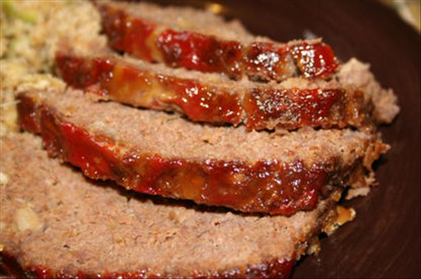 """ Glazed"" Meatloaf"