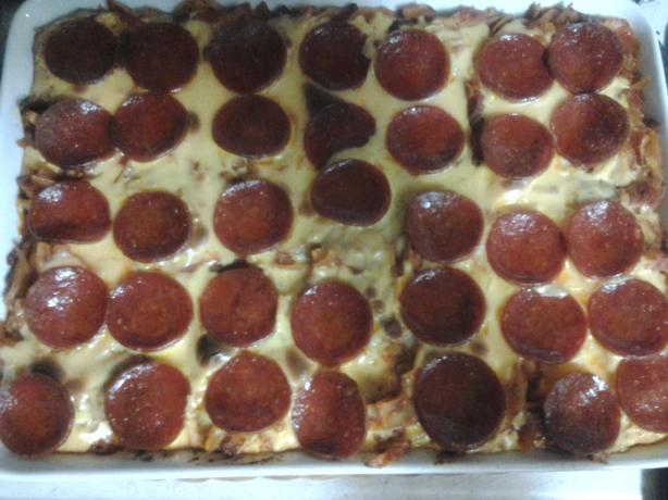 Simple Pepperoni Bake