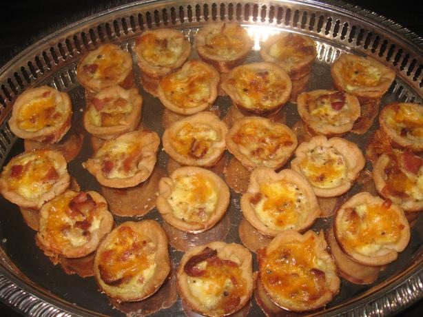 Miniature Bacon-Cheese Quiche