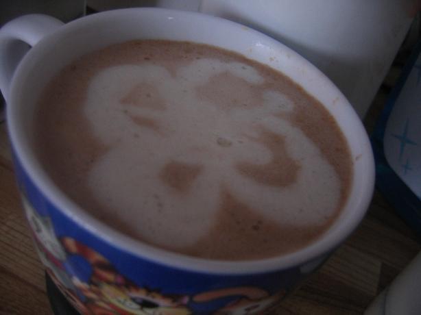 Chocolate Peanut Butter Pie Latte