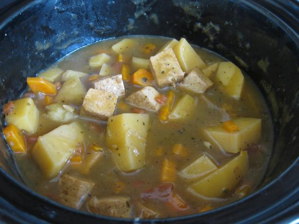 Vegetarian Crock Pot Unbeef Stew