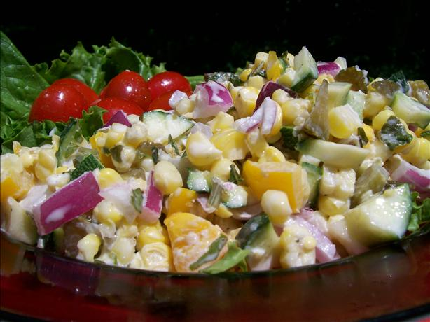 Garden Corn Salad