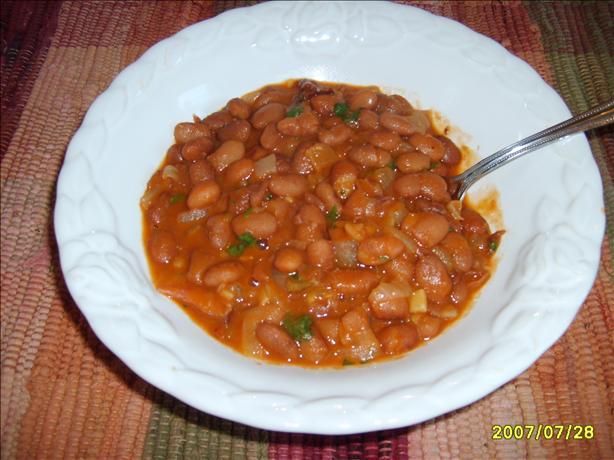 Chuckwagon Beans (Frijoles a La Charra)