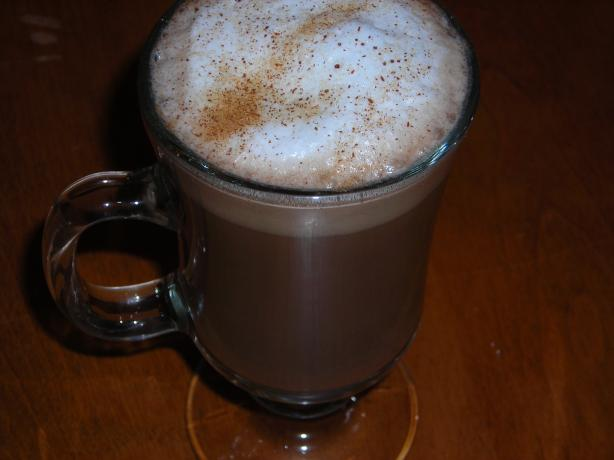 Frosted Spice Latte