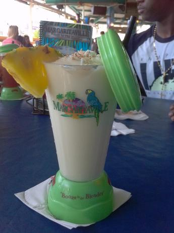 Margaritaville's Havanas and Bananas