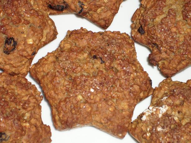 Applesauce Oatmeal Muffins