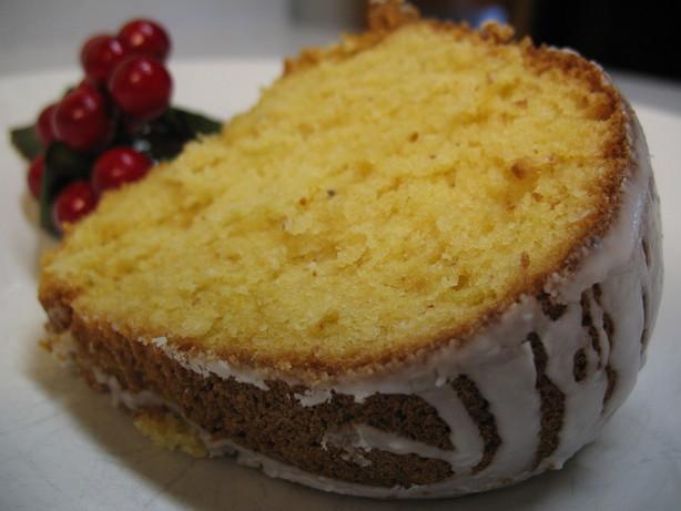 Eggnog Sherry Cake