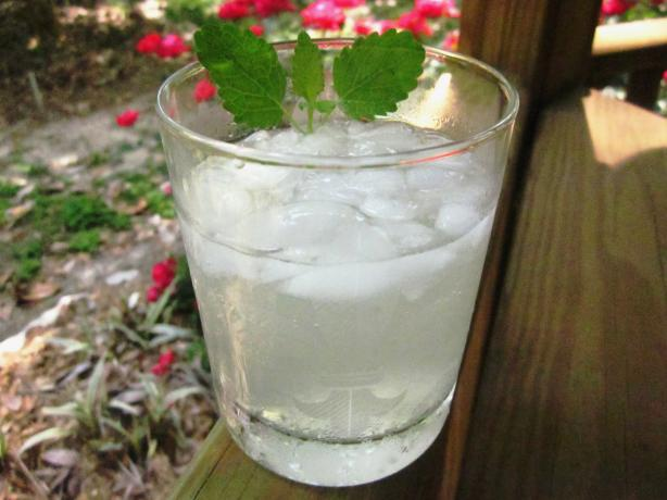 Lemon Balm Mojitos