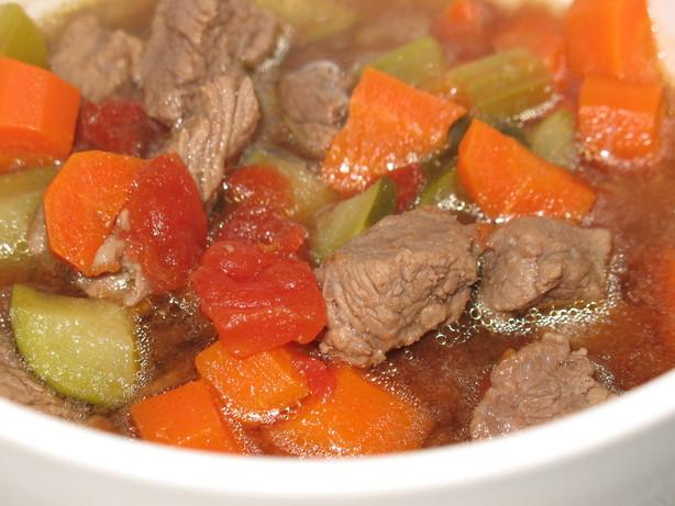 Meaty Veggie Soup