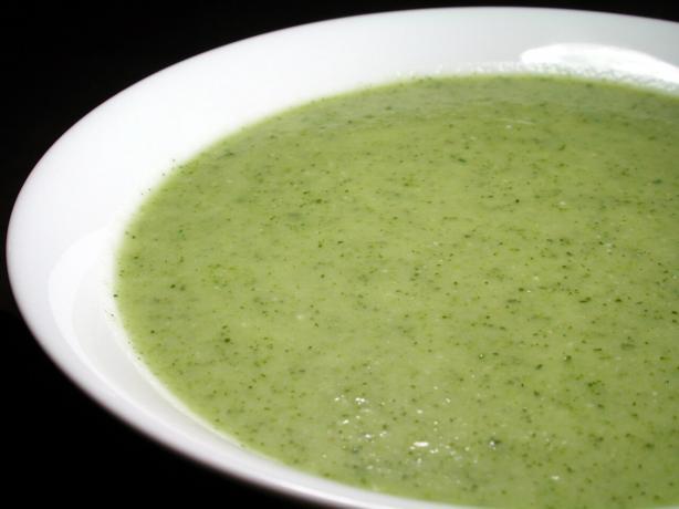 Zucchini Cheese Soup (A.k.a. Vache Qui Rit Soup)