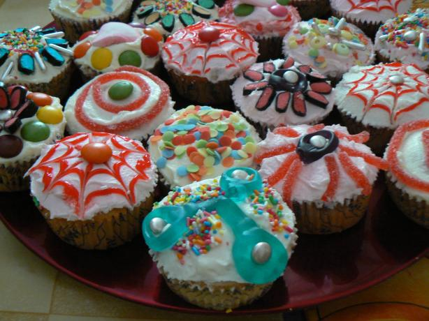 Smarty Party Cupcakes
