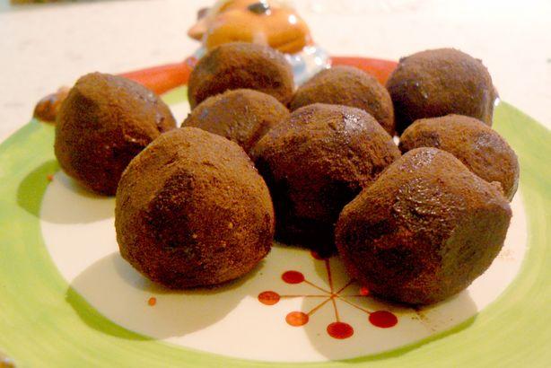 Chocolate Lemon Truffles