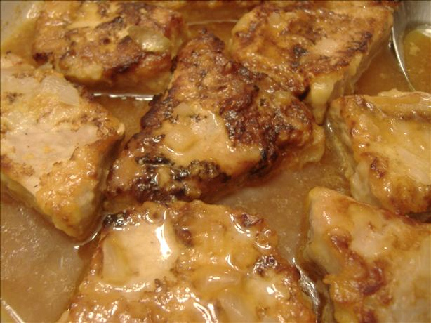 Aunt Martha's Pork Chops Delight