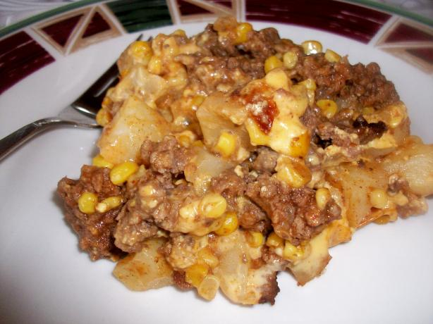 Tex-Mex Beef and Potatoes