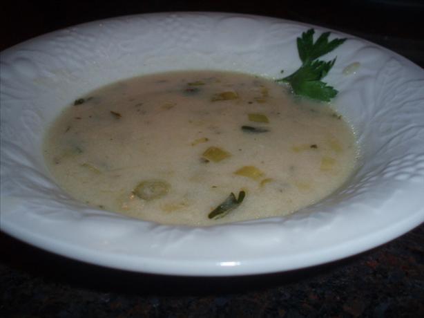 Cream of Horseradish Soup