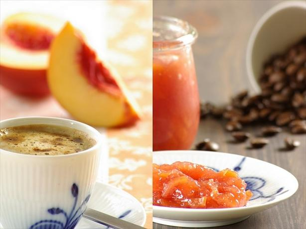 Nectarine-Coffee Jam
