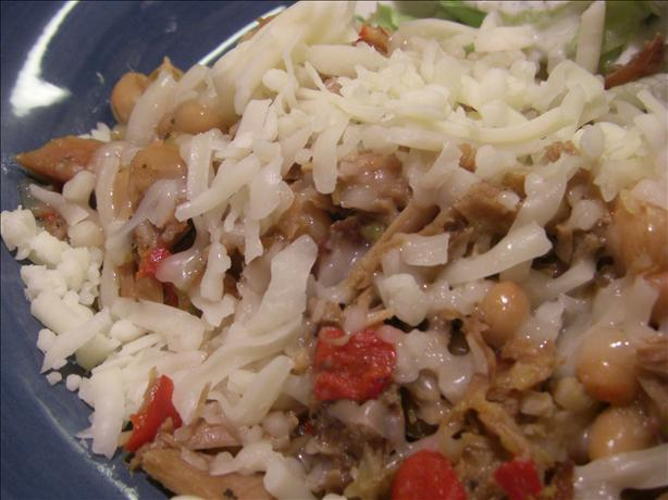 Super Bowl Party Red and White Chili (Crock Pot)