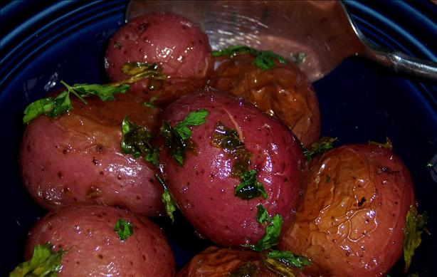 Browned ( Franconia) Potatoes