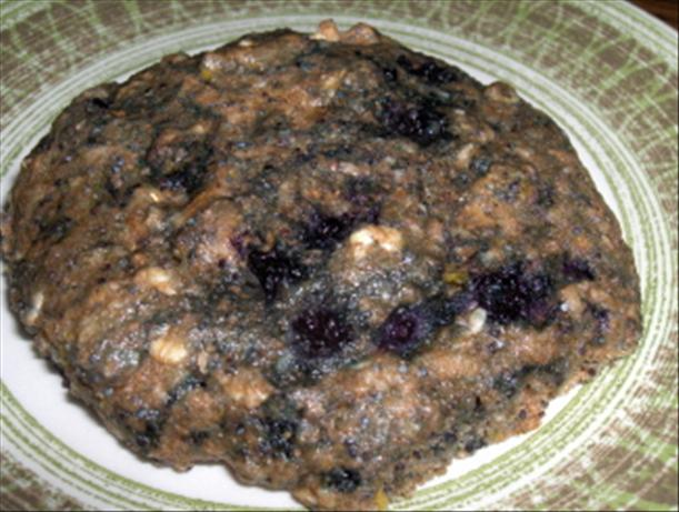 Healthy Blueberry Rock Cakes