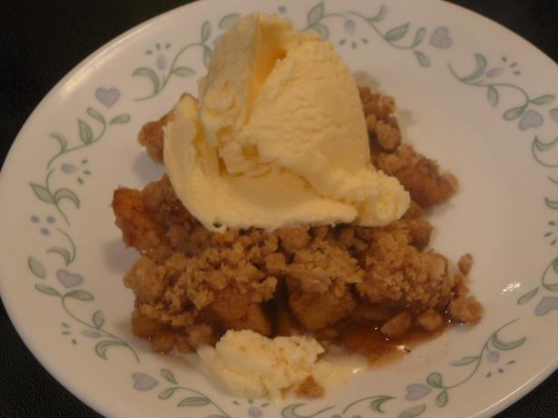Dad's Apple Crisp
