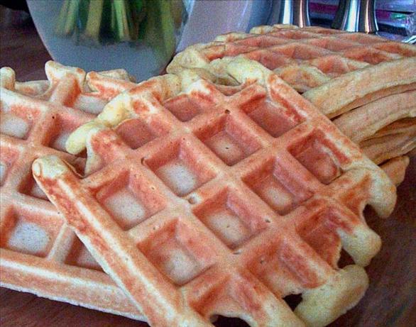 Orange Waffles