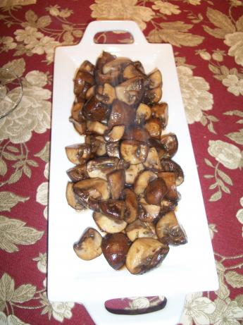 Ww 1 Point - Chunky Balsamic Mushrooms