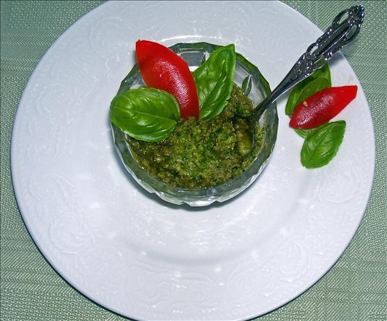 Basil Pesto from Home
