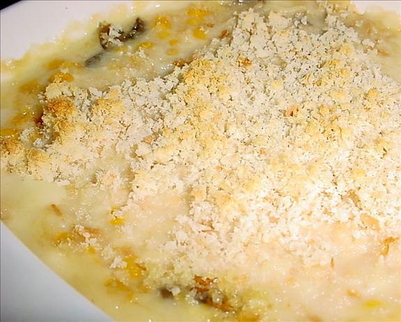Corn-Mushroom Casserole