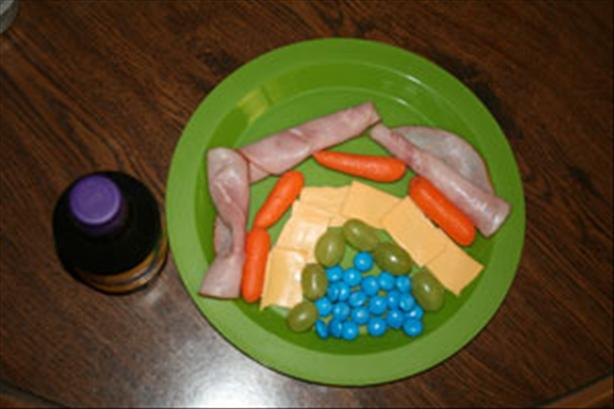 Kids Rainbow Lunch