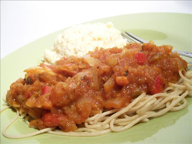 Jewish Spaghetti