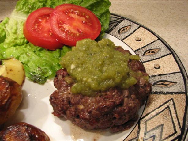 Green Chili Burgers