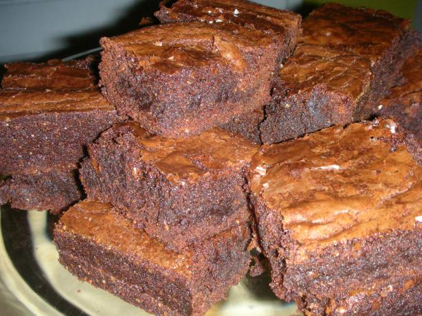 Amaretto Chocolate Brownies