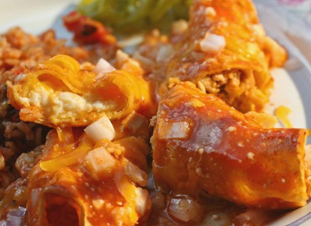 Jacklyn's Crazy Voo-Doo Cheese Enchiladas